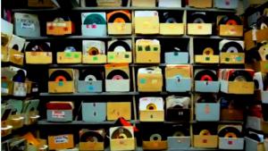 Kijkje in het vinyl archief
